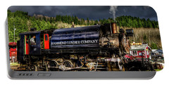 Elbe Steam Engine 17 Hdr 2  Portable Battery Charger by Rob Green