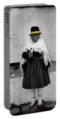 Elderly Beggar In Biblian Portable Battery Charger