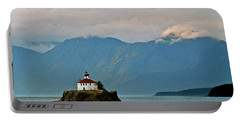Eldred Rock Lighthouse Skagway Portable Battery Charger