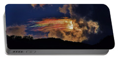 Portable Battery Charger featuring the photograph Electric Rainbow by Craig Wood