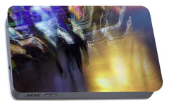 Portable Battery Charger featuring the photograph Electrical Storm by Alex Lapidus