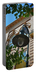 Portable Battery Charger featuring the photograph Electrifying  Architecture by Skip Willits