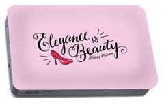 Elegance  Portable Battery Charger by Elizabeth Taylor