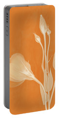 Elegance In Apricot Portable Battery Charger