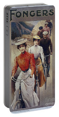 Elegant Fongers Vintage Stylish Cycle Poster Portable Battery Charger