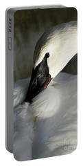 Elegant Trumpeter Swan Portable Battery Charger