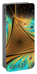 Portable Battery Charger featuring the digital art Element by Anastasiya Malakhova