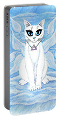 Elemental Air Fairy Cat Portable Battery Charger