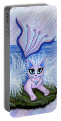 Elemental Water Mermaid Cat Portable Battery Charger