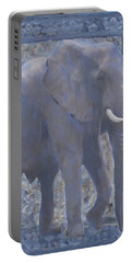 Elephant Facing Right Portable Battery Charger