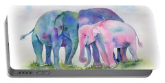 Elephant Hug Portable Battery Charger