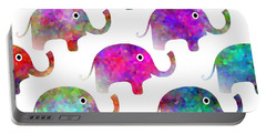 Elephant Parade - Children Pattern Portable Battery Charger