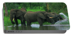 Elephant Shower Portable Battery Charger