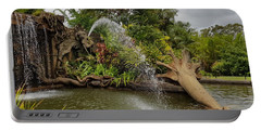 Elephant Waterfall Portable Battery Charger