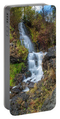 Elk Creek Waterfall Waterscape Art By Kaylyn Franks Portable Battery Charger