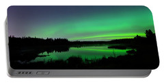 Elk Island Aurora Reflections Portable Battery Charger