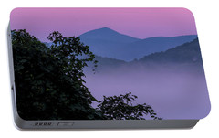 Portable Battery Charger featuring the photograph Elk Knob by Tom Singleton