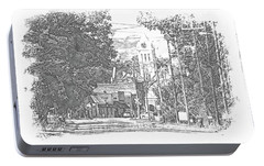Portable Battery Charger featuring the photograph Ellaville, Ga - 1 by Jerry Battle