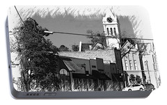 Portable Battery Charger featuring the photograph Ellaville, Ga - 3 by Jerry Battle