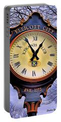 Ellicott City Clock Portable Battery Charger