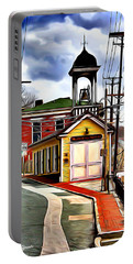 Ellicott City Fire Museum Portable Battery Charger