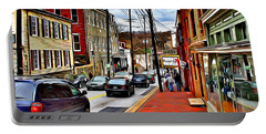 Ellicott City Sidewalk Portable Battery Charger