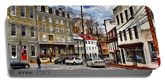 Ellicott City Streets Portable Battery Charger