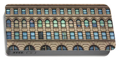 Ellicott Square Building Buffalo Ny Ink Sketch Effect Portable Battery Charger