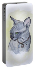 Else The Sphynx Kitten Portable Battery Charger
