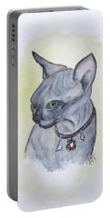 Else The Sphynx Kitten Portable Battery Charger