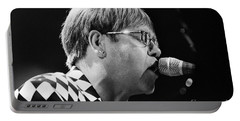 Elton John-0143 Portable Battery Charger by Gary Gingrich Galleries