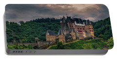 Eltz Castle Portable Battery Charger by Martina Thompson