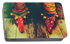 Elves And Feet Portable Battery Charger by Jorgo Photography - Wall Art Gallery