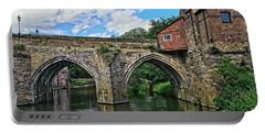 Elvet Bridge, Durham City, England Portable Battery Charger