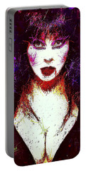 Elvira Mistress Of The Dark Portable Battery Charger