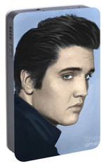Elvis Portable Battery Charger by Paul Tagliamonte