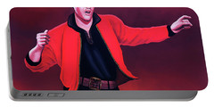 Elvis Presley 4 Painting Portable Battery Charger