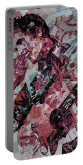 Elvis Presley Collage Art 01 Portable Battery Charger by Gull G