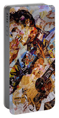 Elvis Presley Collage Art  Portable Battery Charger by Gull G