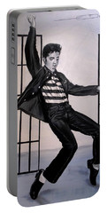 Elvis Presley Jailhouse Rock Portable Battery Charger