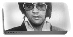 Elvis Presley Mug Shot Vertical Portable Battery Charger