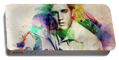 Elvis Presley With Guitar Portable Battery Charger