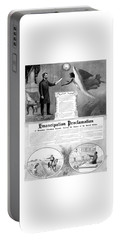 Emancipation Proclamation Portable Battery Charger