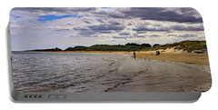 Portable Battery Charger featuring the photograph Embleton Bay by Tony Murtagh