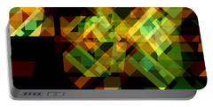 Portable Battery Charger featuring the digital art Embodiment 6 by Lynda Lehmann