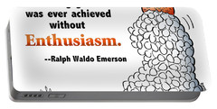 Embrace Enthusiasm Portable Battery Charger