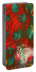 Emerald Butterfly Island Portable Battery Charger