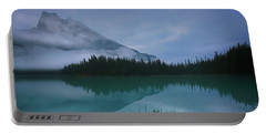 Emerald Lake Before Sunrise Portable Battery Charger