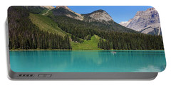 Emerald Lake, British Columbia Portable Battery Charger