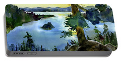 Emerald Morn, Lake Tahoe Portable Battery Charger